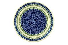 Polish Pottery 10-inch Plate | Boleslawiec Stoneware | Polmedia H2710C