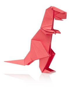 Activité manuelle Origami dinosaures