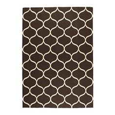 STOCKHOLM Rug, flatwoven - IKEA - can't tell what color it is, but it might work for the playroom