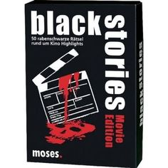 Black Stories - Movie Edition Spielwaren Kartenspiele Black Stories