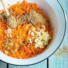 Korejský salát - recept krok 3 Macaroni And Cheese, Carrots, Grains, Food And Drink, Rice, Salad, Ethnic Recipes, Fitness, Side Dishes