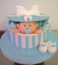 gift box baby shower cake - Google zoeken