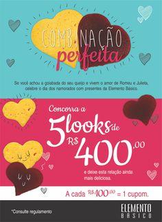 Campanha do Dia dos Namorados desenvolvida pela Agência Conceito.