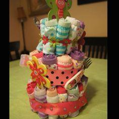 A very cute DIY panty cake