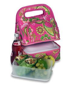 Pink Desire Savoy Lunch Tote | Something special every day