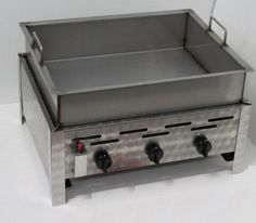 Commercial-Catering - Commercial Catering Pan Gas LP Lpg Fryer Shallow Frying…