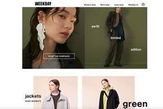 Eine unserer liebsten Adressen für unkomplizierte Mode im Skandi-Stil ist definitiv Weekday.com. Neben zeitlosen Basics und einer großen Auswahl an Denim-Styles gibt es hier immer wieder auch Extravagantes und Raffiniertes zu entdecken. Weitere Pluspunkte: Die unkomplizierte Bestellung und der schnelle Versand. Shops, Trends, Campaign, Glamour, Man Shop, Shopping, Fashion Styles, Purchase Order, Tents