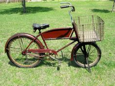 Schwinn Cycletruck, gas saver during the war.  Was great for me & my 2 dogs to ride around town.