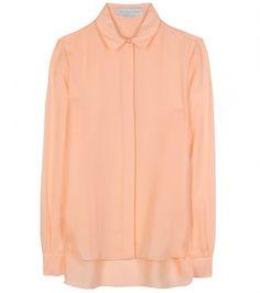 STELLA MCCARTNEY  Pink Silk Blouse