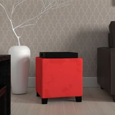 Shop for Microfiber Storage Ottoman. Get free shipping at Overstock.com - Your Online Furniture Outlet Store! Get 5% in rewards with Club O! - 11438119