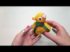 PomPom Duck DIY - YouTube
