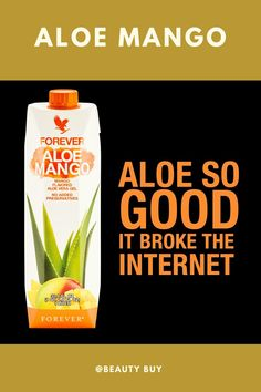 Have you ever had an aloe drink so good that it broke the internet? So many of you ordered the brand new Aloe Mango that system outages were experienced across Europe! But don't worry, all systems are back up and running and Mango is a go! Multi Maca, Aloe Drink, Forever Business, Forever Aloe, Nutrition Drinks, Forever Living Products, Natural Energy, Up And Running, Aloe Vera Gel