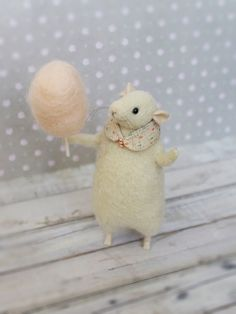Felted Animal Felted Mouse Needle Felted Mouse от MimimishHandmade