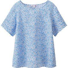 100% linen blouse by Uniqlo x Liberty.