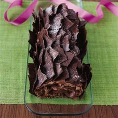 Chocolate Yule Log  Uses Nutella and Mascarpone in the filling. Easy to do.