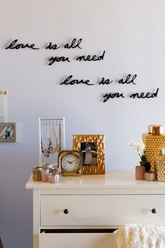 Love is All You Need Wall Decor