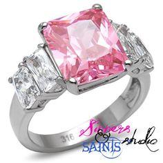 Sin City Stunner Flamingo Pink Stainless SZ 7 8 9