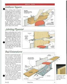 Woodworking Jigs, Workshop, Layout, Shapes, Drawings, Electric Planer, Brushing, Atelier, Page Layout