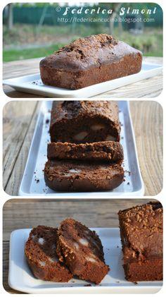 La cucina di Federica: Plumcake con cioccolato e pere