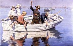 Chadding On Mount's Bay - Stanhope Alexander Forbes
