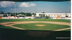Bosse Field.  Third oldest ballpark in use in the U.S., behind Fenway and Wrigley.