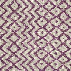 Sanderson Cheslyn Fabric - Fig/Linen 232037