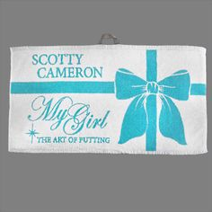 Scotty Cameron 2014 My Girl Towel