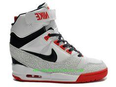 meet 741a2 cbe82 Officiel Nike Air Revolution Sky Hi GS Chaussures Nike Basketball Pas Cher  Pour Femme-Chaussure Basket Homme Nike