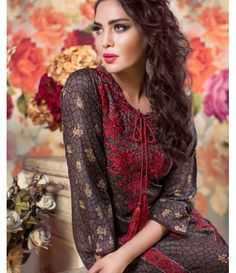 Feminine Embroidered Lawn Collection 2016 FEM_07B