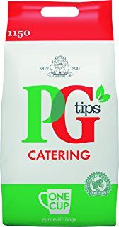 PG Tips Tea Bags Pyramid One Cups, Total 1150 Teabags