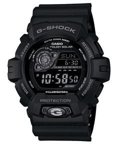 G-Shock - Men's Digital Black - Solar