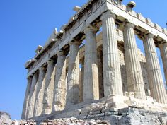 The Parthenonis the main temple on top of the Acropolis of Athens.Dedicated to Athena Parthenos, the patron goddess of Athens. End Time Headlines, Acropolis, House Of Cards, German, Ocean, Street, World, Places, Repeat