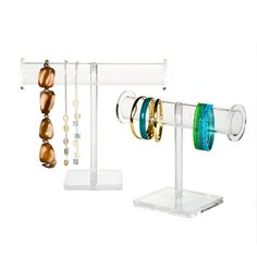 Acrylic Jewelry Stands available at The Container Store
