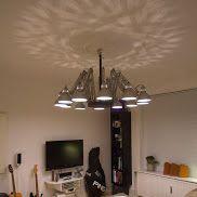 A TERTIAL chandelier