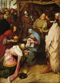 L'adoration des Mages - Pieter Bruegel (1564)