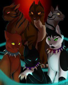 Warriors Villains (Re-remastered) + SPEEDPAINT by DrakynWyrm on DeviantArt
