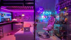 Cute Bedroom Decor, Bedroom Setup, Room Ideas Bedroom, My New Room, My Room, Pinterest Room Decor, Pastel Home Decor, Otaku Room, Cute Room Ideas