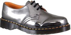 Classic with a little shine. Dr. Martens Women's 1461 Iconic Gibson Shoe Style: DMR13060650