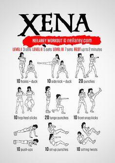 Xena Workout