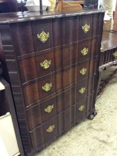 Must view @ HEY JUDES ANTIQUES BARN.... Don't miss this rare hard to get in this condition chest of drawers, want it in white, we have one too!Two HEY JUDES to visit, everything your heart desires, so bring the CARD and the LIST we can fill it with best deals. 9  - 4 every day except Mondays, www.heyjudesbarn.co.za to print directions or just google HeyJudes gumtree ads to see a taste of what this big FURNITURE barn stocks ! Debit and delivery options. You saw us at Home