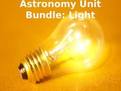 This is a whole unit on Light. This unit covers how our understanding of what light is has changed over time and how we've used this information to study the universe.. In this package you will get everything you've seen individually in my store plus several extra bonus materials.This package includes:1.