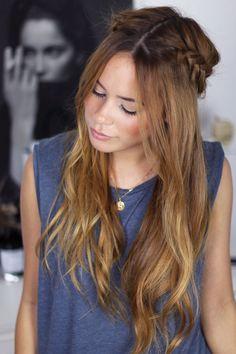 wiesn ready: braided hair crown - teetharejade - teetharejade // Powered by chloédigital