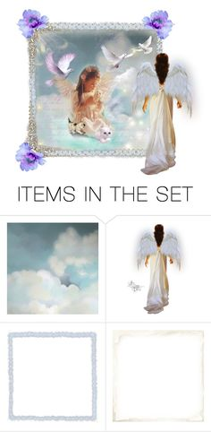"""In Heaven, you are never alone"" by barebear1965 ❤ liked on Polyvore featuring art"