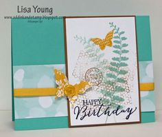 Butterflies and Birthdays (Add Ink and Stamp)
