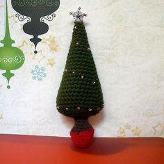 Blog de Goanna: Patrones Árboles de Navidad en Crochet (tipo Amigurumi) Chrochet Christmas tree