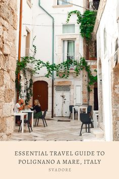 Essential Travel Guide to Polignano a Mare, Italy. Feel like an uncaged bird and get lost, soar–or vola in Italian–through the blue painted blue waters and white washed limestone streets of Polignano a Mare, Italy in Puglia. Learn more what to do on Svadore. #polignanoamare #polignano #puglia #apuglia #apulia #italy #italia #travel #travelblog #travelguide #svadore #volare #food #foodie #sea #cove #domenicomodugno Travel Advise, Travel Guide, Travel Essentials, Travel Around The World, Italy Travel, Travel Pictures, Trip Planning, Family Travel, Travel Inspiration