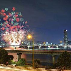 한강시민공원,서울불꽃축제 Seoul,Korea