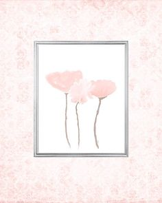 Blush Artwork 8x10 Blush Print Blush Pink Art Print Pink