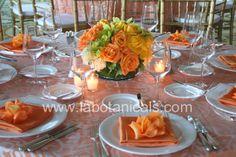 orange table citrus orange lemon cupcake grapefruit party theme orange lemon lime tangerine yellow green decor