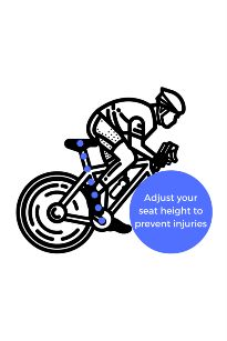 Knee pain from biking + How to adjust bike seat: How to adjust your seat post to prevent knee pain and cycling injuries